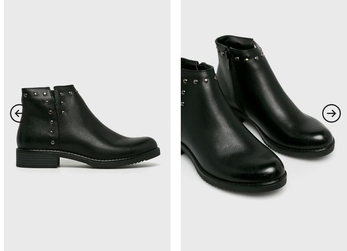 Answear - Botine de iarna ieftine de firma negre la moda
