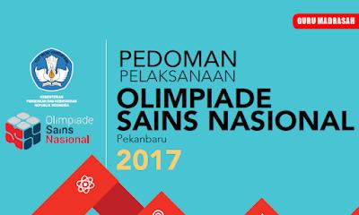 Pedoman Pelaksanaan Olimpiade Sains Nasional (OSN) SMA Tahun 2017