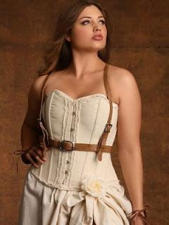 womens plus size leather harness corset bodice vest
