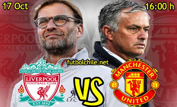 Ver stream hd youtube facebook movil android ios iphone table ipad windows mac linux resultado en vivo, online: Liverpool vs Manchester United