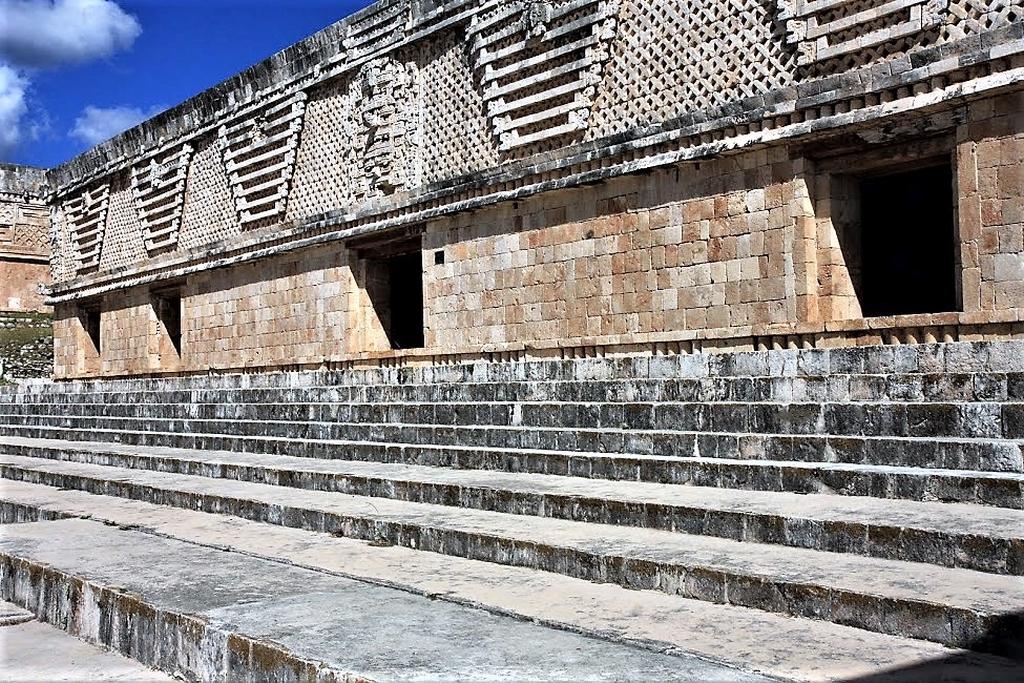 Piramidy w Uxmal, Jukatan