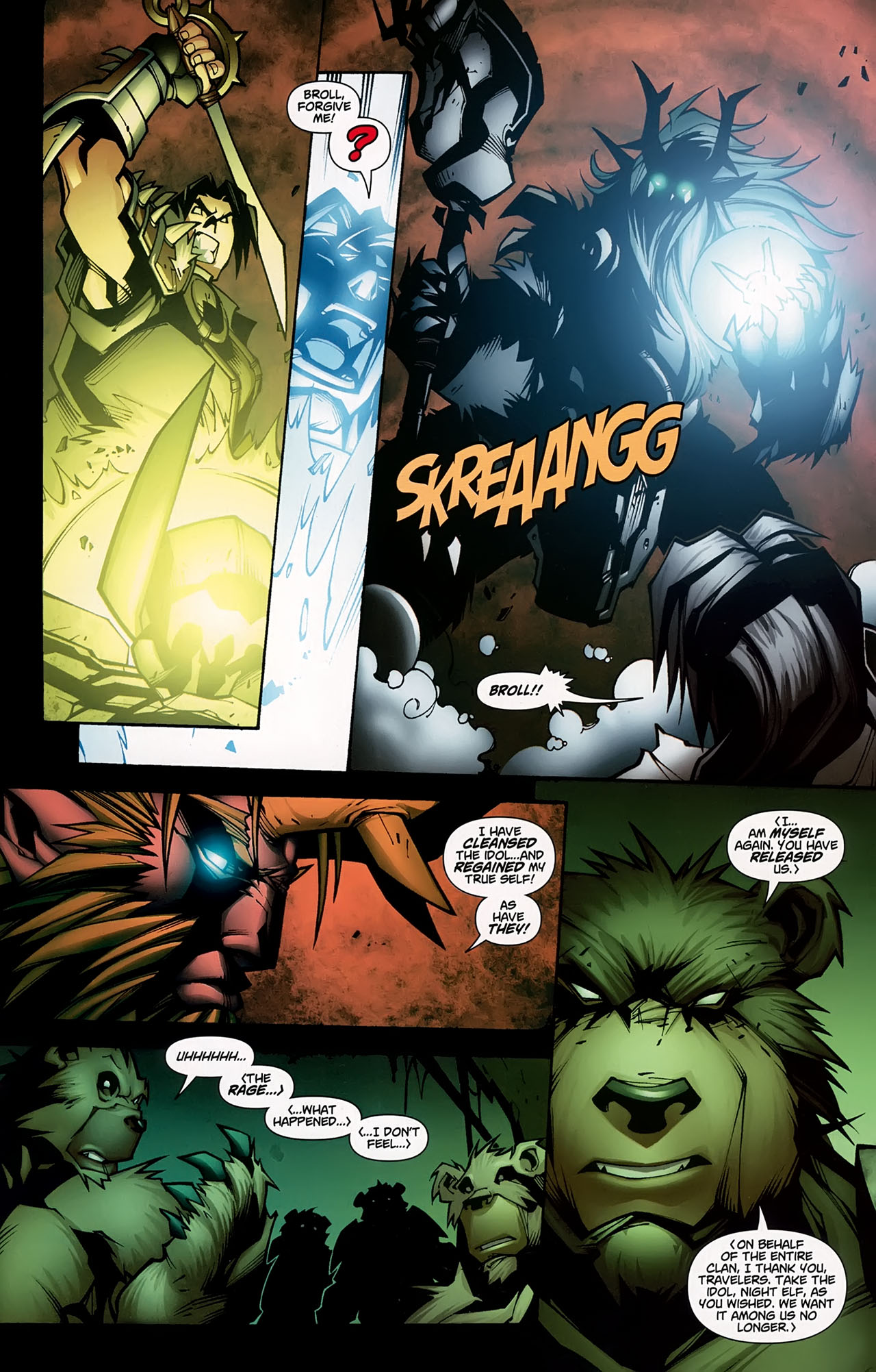 Read online World of Warcraft comic -  Issue #5 - 23