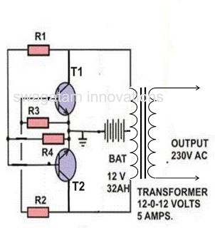 Simple Circuit inverseur