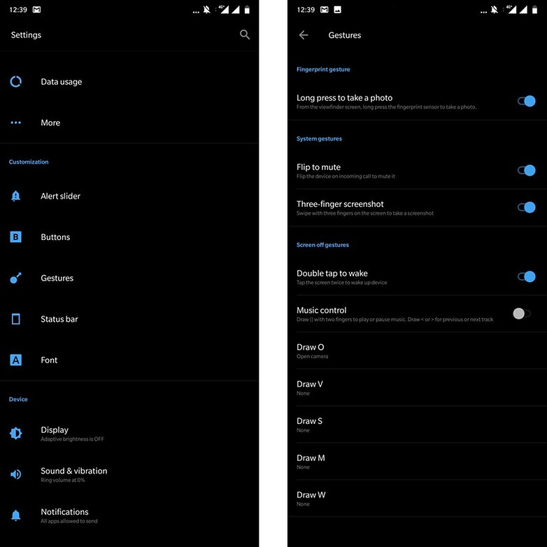 OnePlus 6 Tips and Tricks - Enabling Gesture Control Shortcut