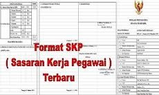 Download Format SKP Untuk Semua Golongan PNS Versi Terbaru 2019