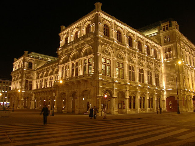 Óperas e apresentações em Viena
