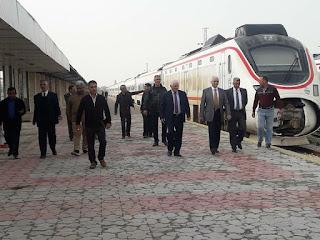 السكك الحديد تقوم بتاهيل خط سكة حديد بغداد - فلوجة