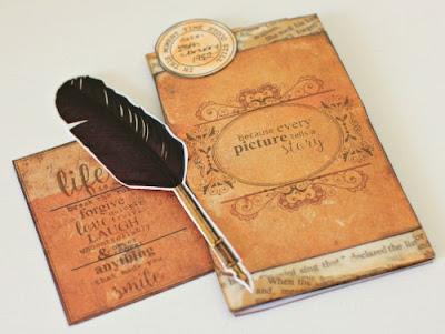 Kaisercraft Story Book Layout by Alicia McNamara