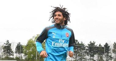 محمد النني يعود إلي التدريبات مرة أخري بعد تعرضة للإصابة