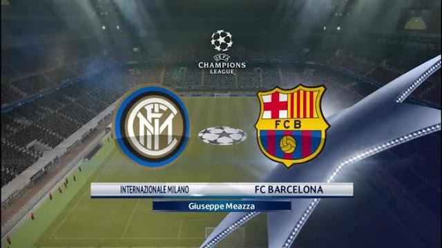 مشاهدة مباراة برشلونة و انتر ميلان مباشر
