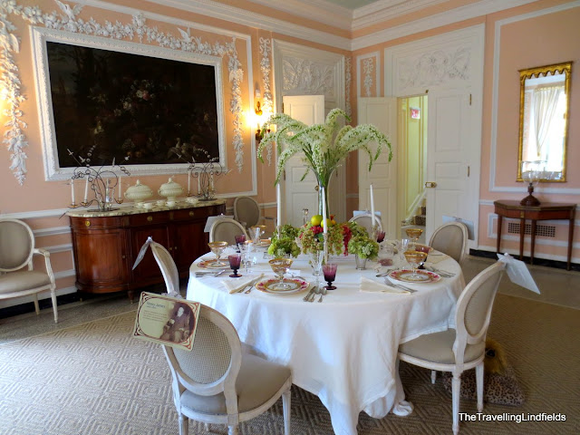 The dining room at The Mount
