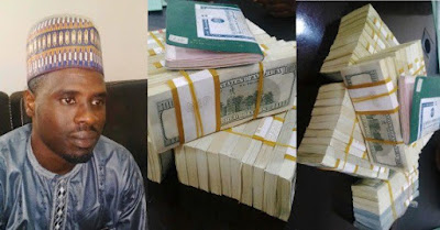 Man arrested with $375k at Kaduna airport
