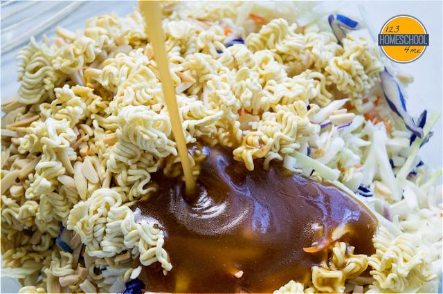 Asian slaw salad dressing