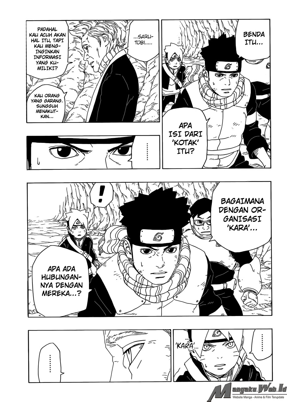 Boruto Chapter 20 Bahasa Indonesia