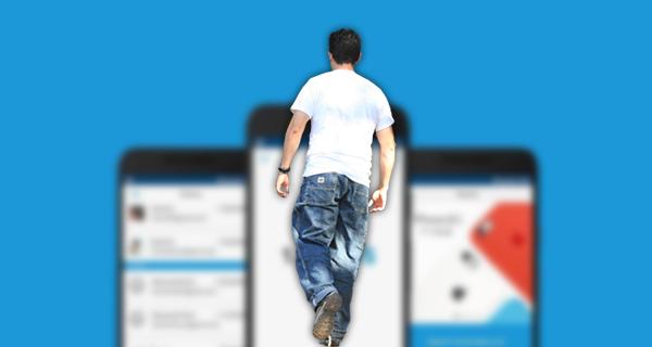 تطبيق جديد للهواتف الذكية يدفع لك المال مقابل المشي فقط !