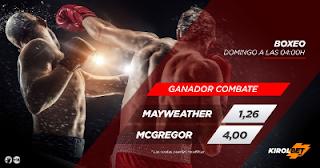 kirolbet superkuota 7 Mayweather vs McGregor 27 agosto