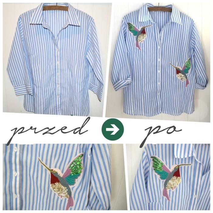 DIY - Jak przerobić i ozdobić koszulę?