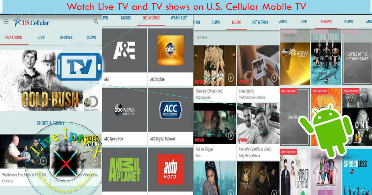 watch tv shows free on your mobile
