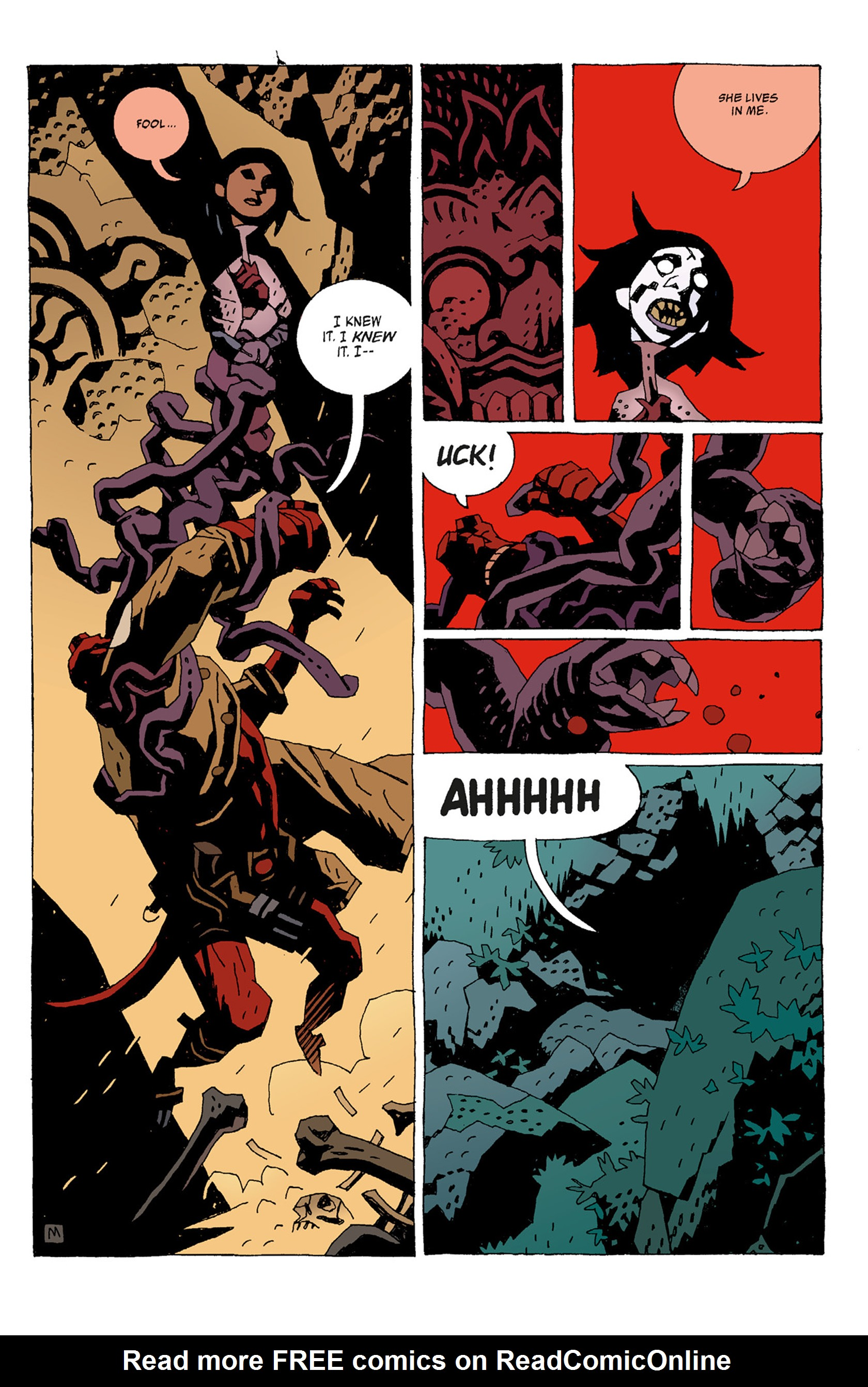 Read online Hellboy: The Troll Witch and Others comic -  Issue # TPB - 13