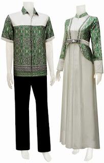 Batik Gamis Couple