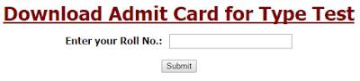 North Central Railway Admit Card