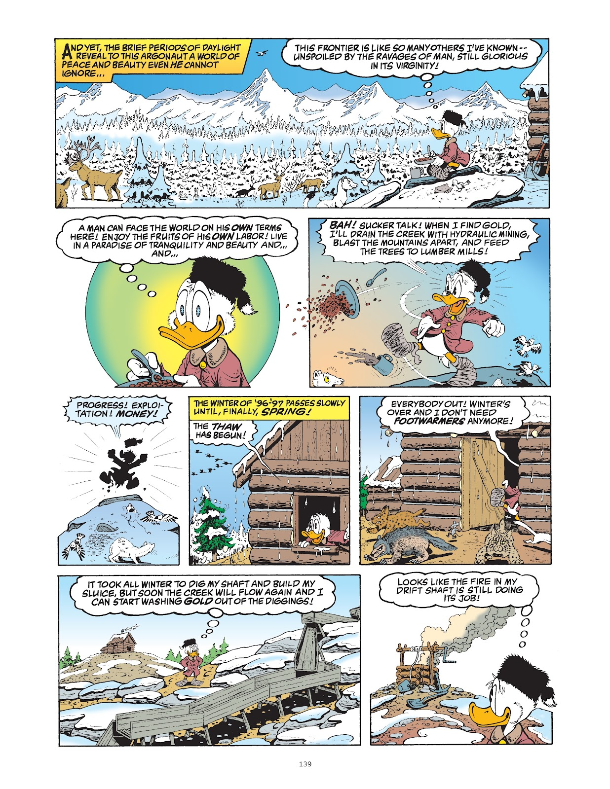 Read online The Complete Life and Times of Scrooge McDuck comic -  Issue # TPB 1 (Part 2) - 38