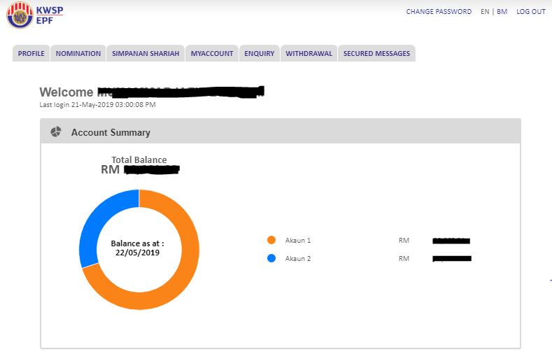 Cas Positif Senangnya Nak Register I Akaun Epf Online Sekarang