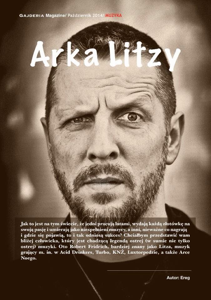 Arka Litzy w GajderiaMagazine