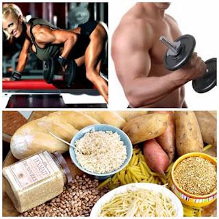 Comida antes y después de entrenar pesas