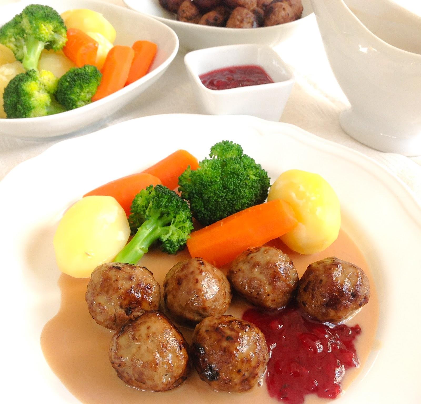 Swedish Meatball Original Ikea Dan Brown Sos Sedap