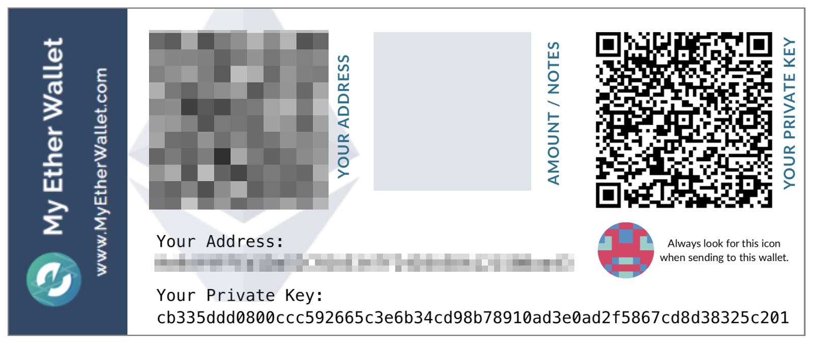 Com'è fatta una chiave privata Ethereum