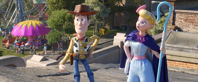 Toy Story 4 Bo Peep with Woody