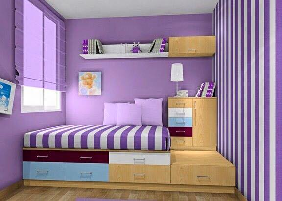 Minimalist Girls Bedroom