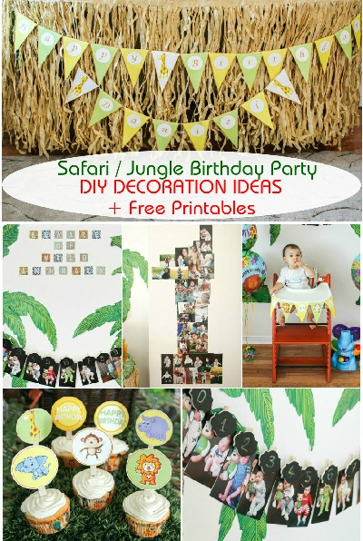 1 Safari Jungle Theme Birthday Themes For Boys