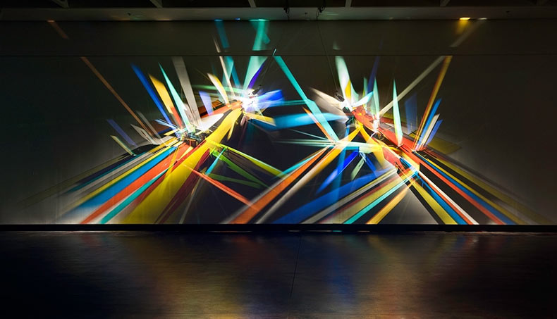 Pinturas prismáticas producido a partir de la luz refractada por Stephen Knapp