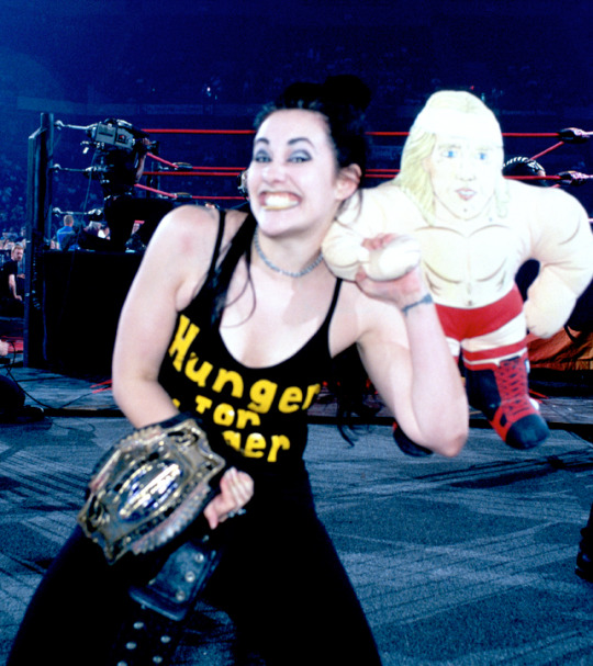 Hunger for Unger shirt as worn by WCW wrestling Daffney. PYGear.com
