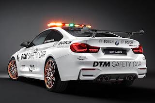 BMW M4 GTS DTM Safety Car (2016) Rear Side