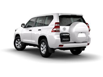 Toyota Land Cruiser Prado rear pics