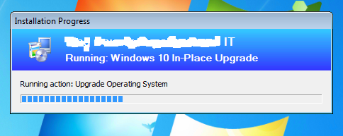 windows 10 in place upgrade sccm