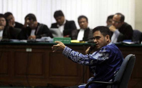 Nazaruddin: Aktor Utama Hambalang Belum Jadi Tersangka!