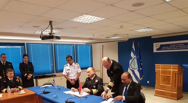 Bakamla RI Teken Kerja Sama Dengan Coast Guard Yunani
