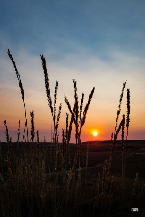 Medicine Hat Alberta Sunset