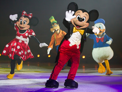 The Wonderful World of Disney On Ice Preview #adgifted