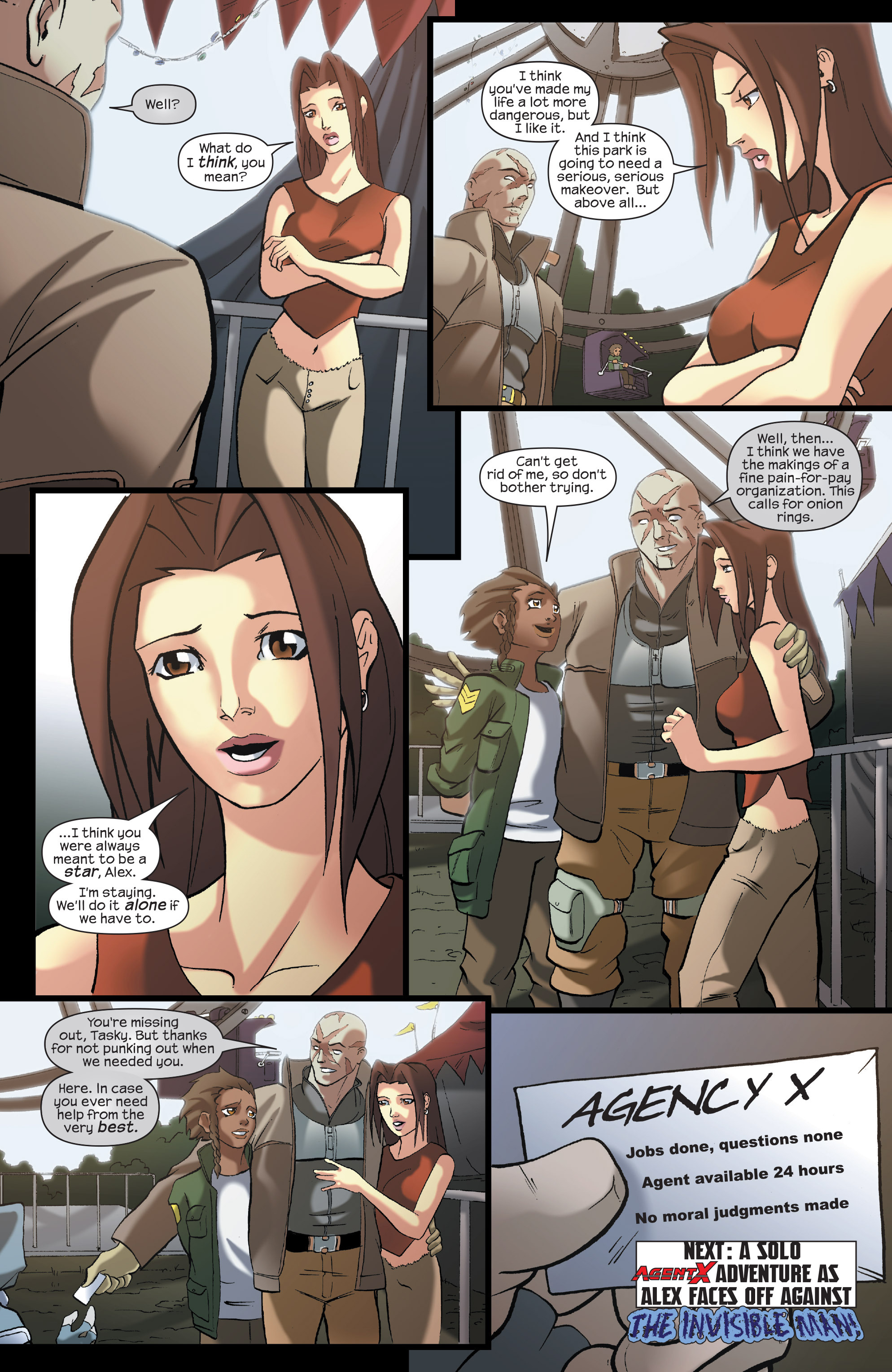 Read online Agent X comic -  Issue #7 - 24