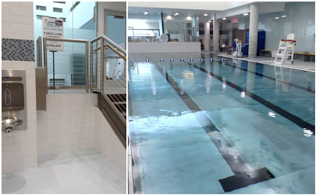 Parker Hannifin @CLEDowntownY lap pool at @TheGalleriaCLE  #LivePlayEat