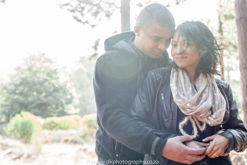 DK Photography CCD_9313 Preview ~ Lucy & Taschwill's Engagement Shoot in Tokai Forest  Cape Town Wedding photographer