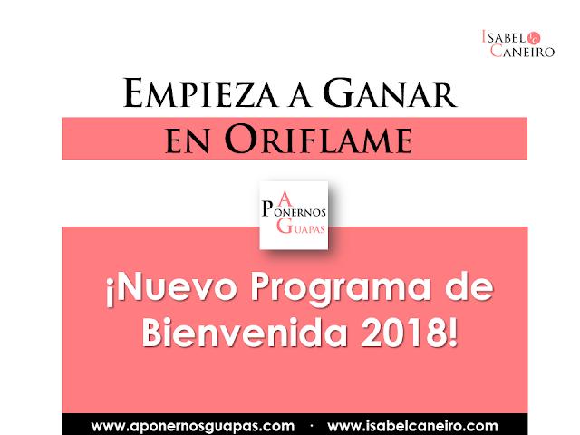 Programa de bienvenida Oriflame España