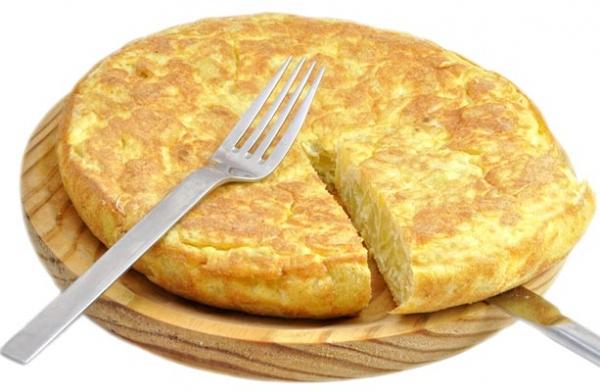 tortilla de patata fitness