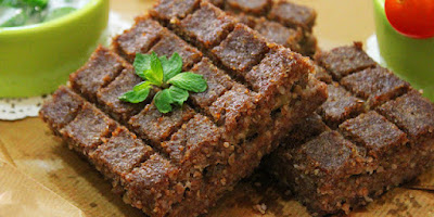s great national dishes and until the arrival of the food processor Kibbeh Bil-Saniyeh / Baked Kibbeh Recipe