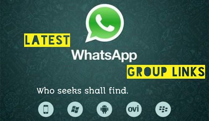 [New] {Fresh} 1000+ WhatsApp Group Links